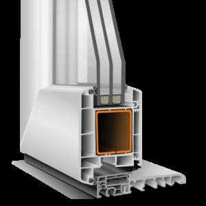 PVC-Türensystem K71