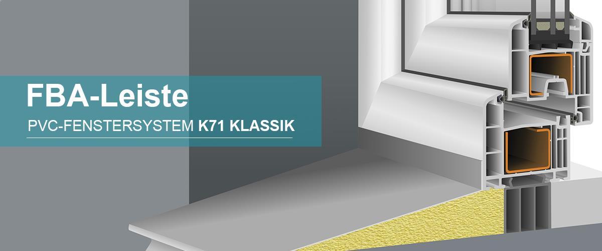 fensterbankanschlussprofil fenstiger. Black Bedroom Furniture Sets. Home Design Ideas