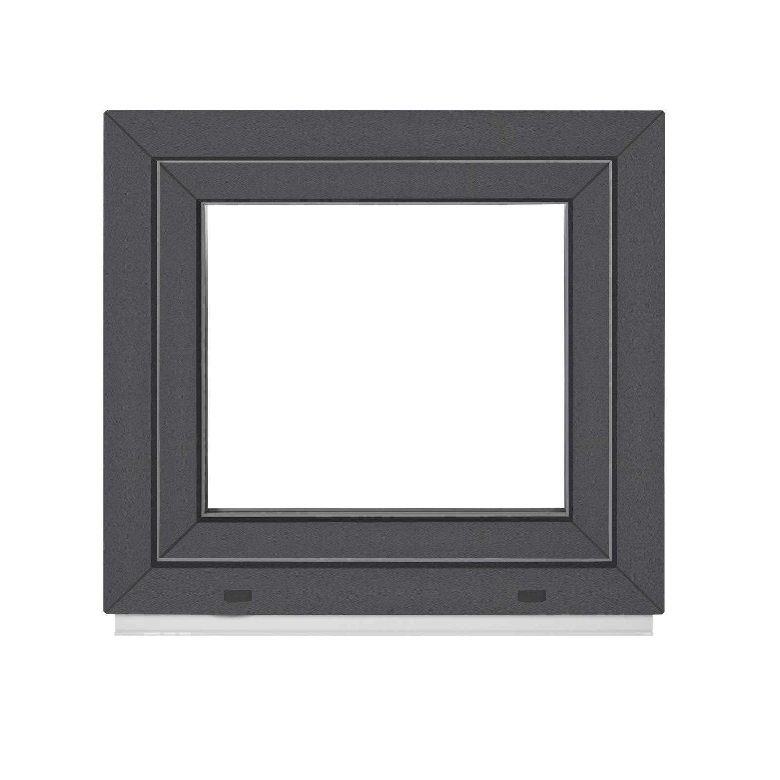 kunststofffenster breiten 50 120 cm innen wei au en anthrazit premium fenstiger. Black Bedroom Furniture Sets. Home Design Ideas